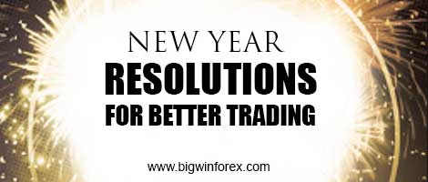 New Year Resolutions for Better Trading